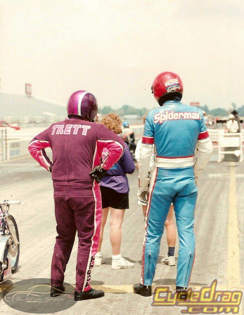 Larry McBride and Elmer Trett