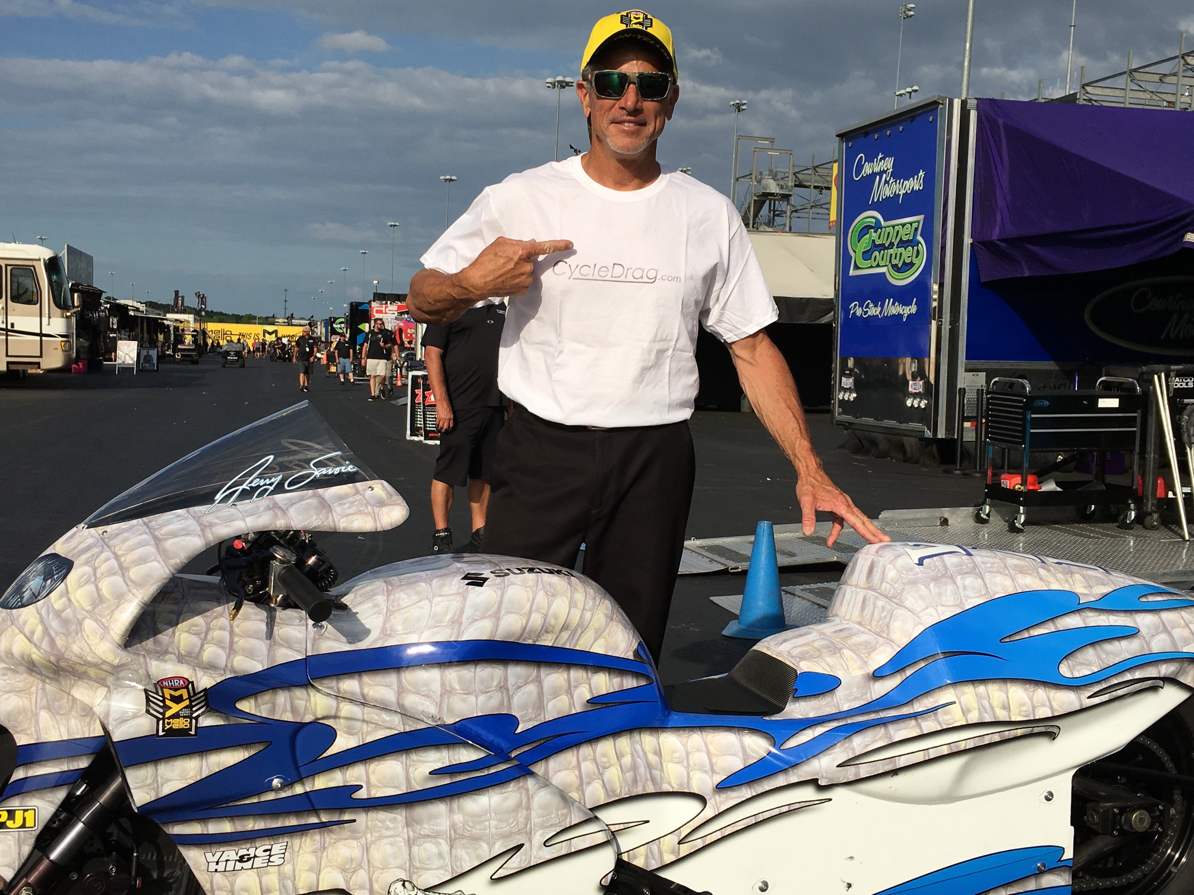 Jerry Savoie, Cycledrag.com
