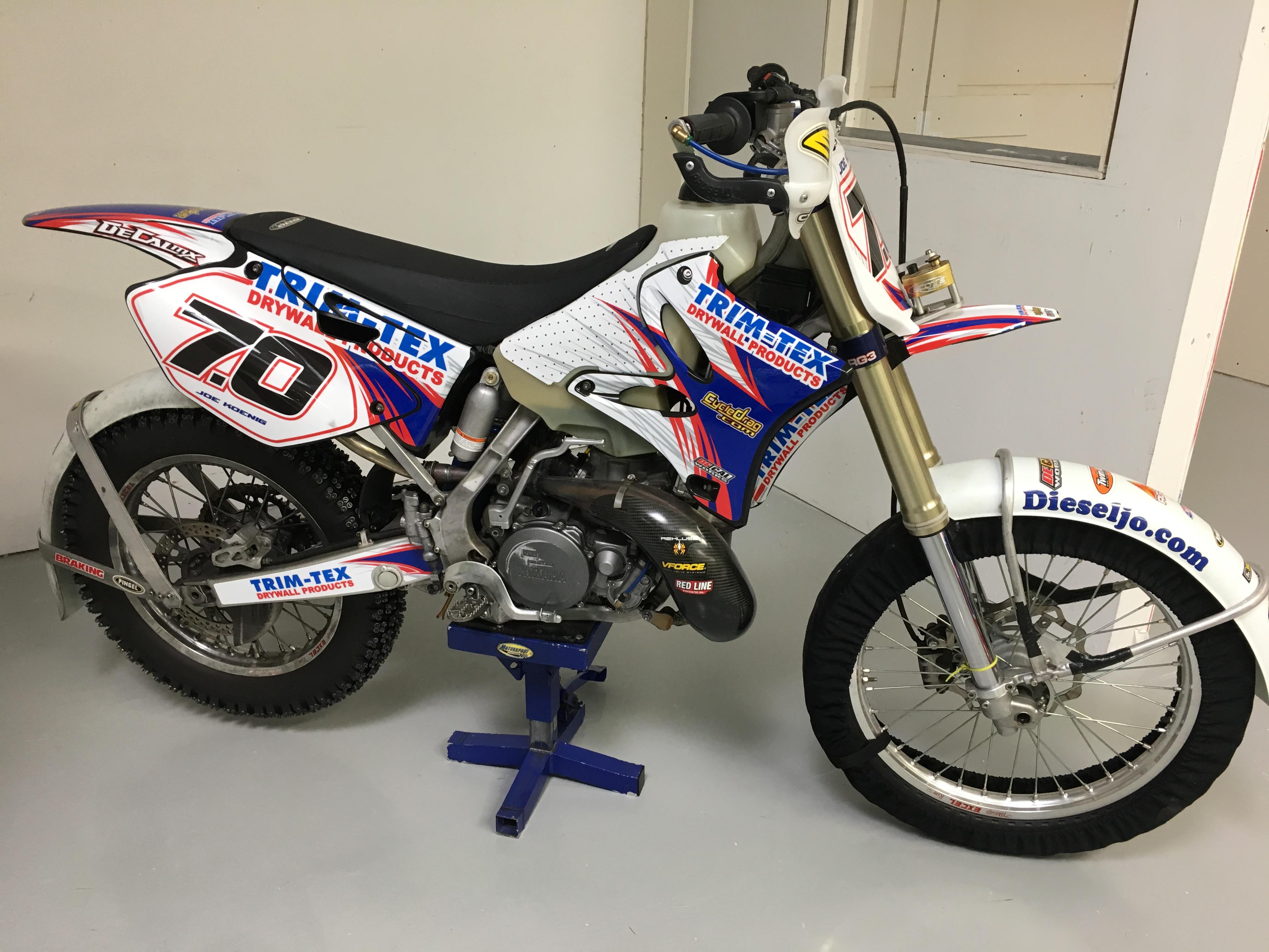 Trim-Tex Ice racer YZ 285