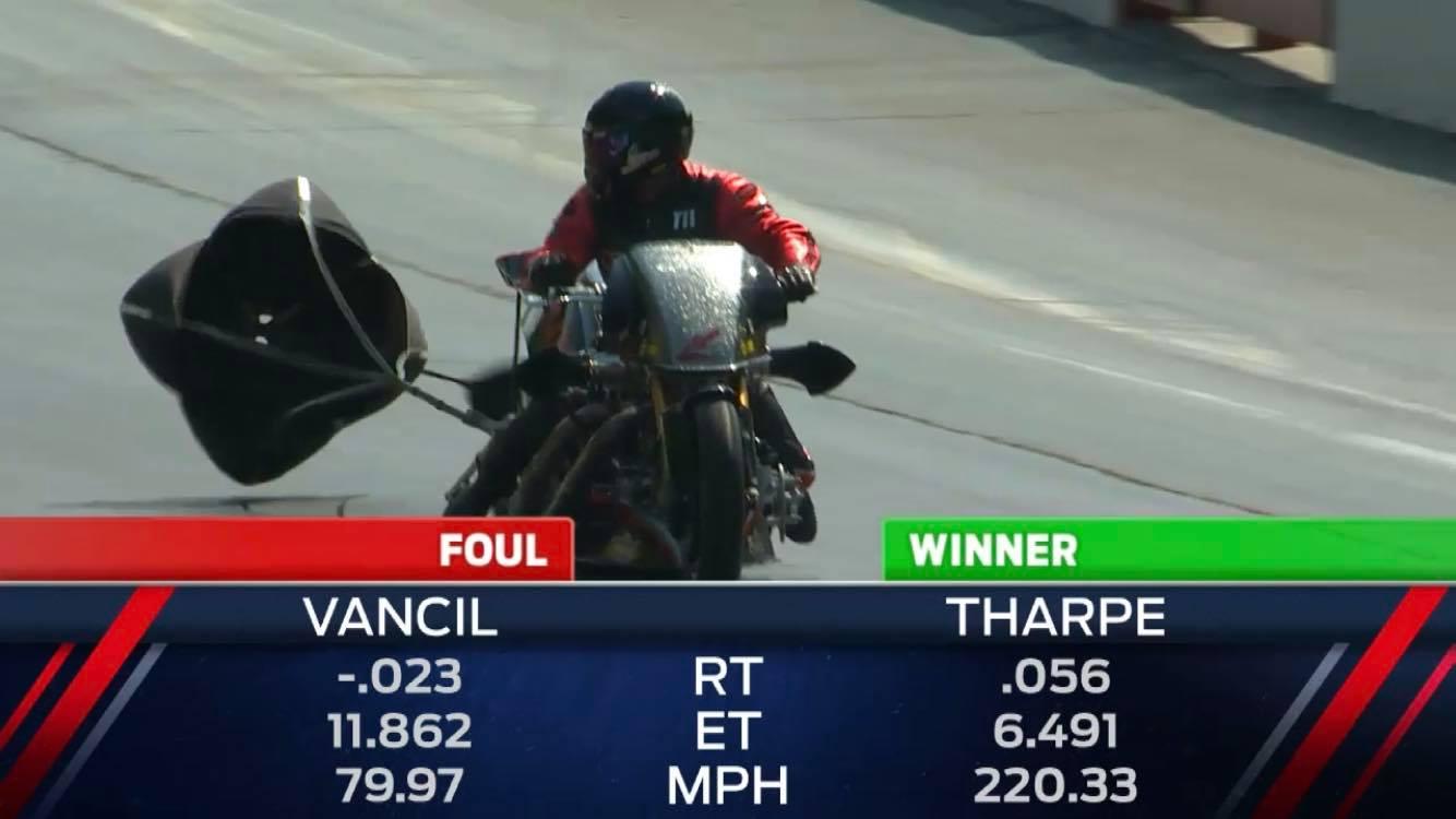 Tii Tharpe vs. Doug Vancil