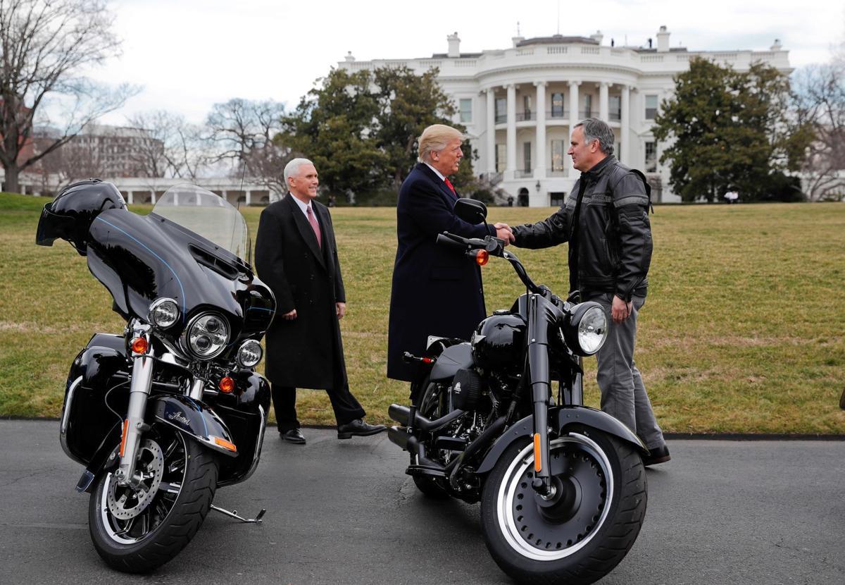 Donald Trump Harley Davidson