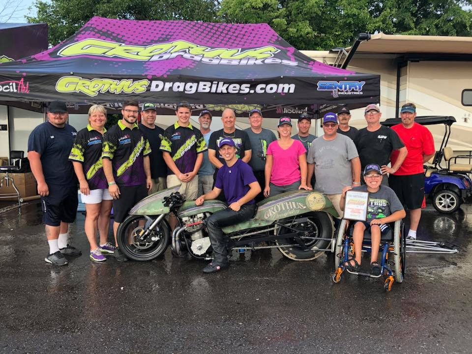 Brody Grothus and Grothus Dragbikes