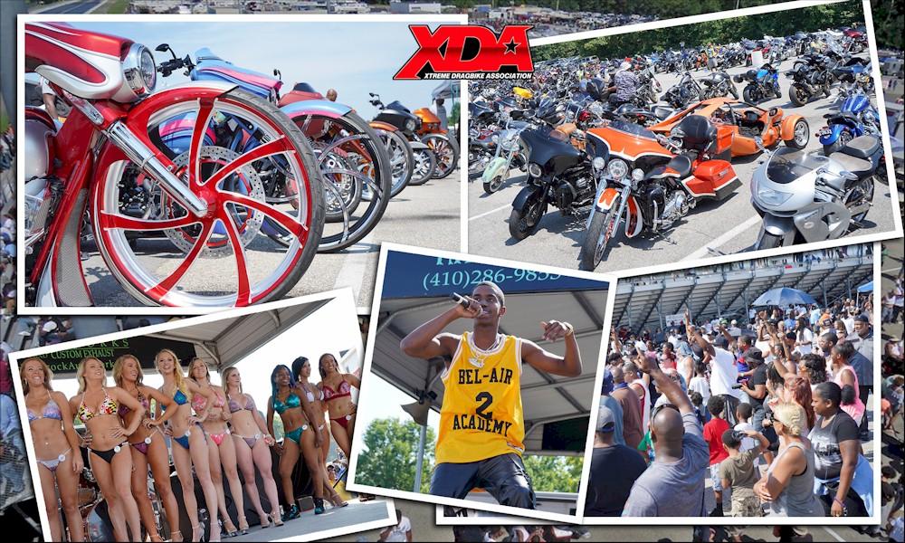 King Combs, XDA Dragbike Racing