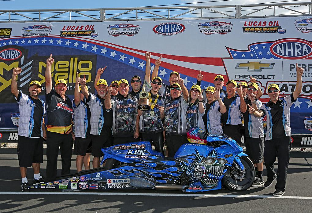 L.E. Tonglet Wins U.S. Nationals