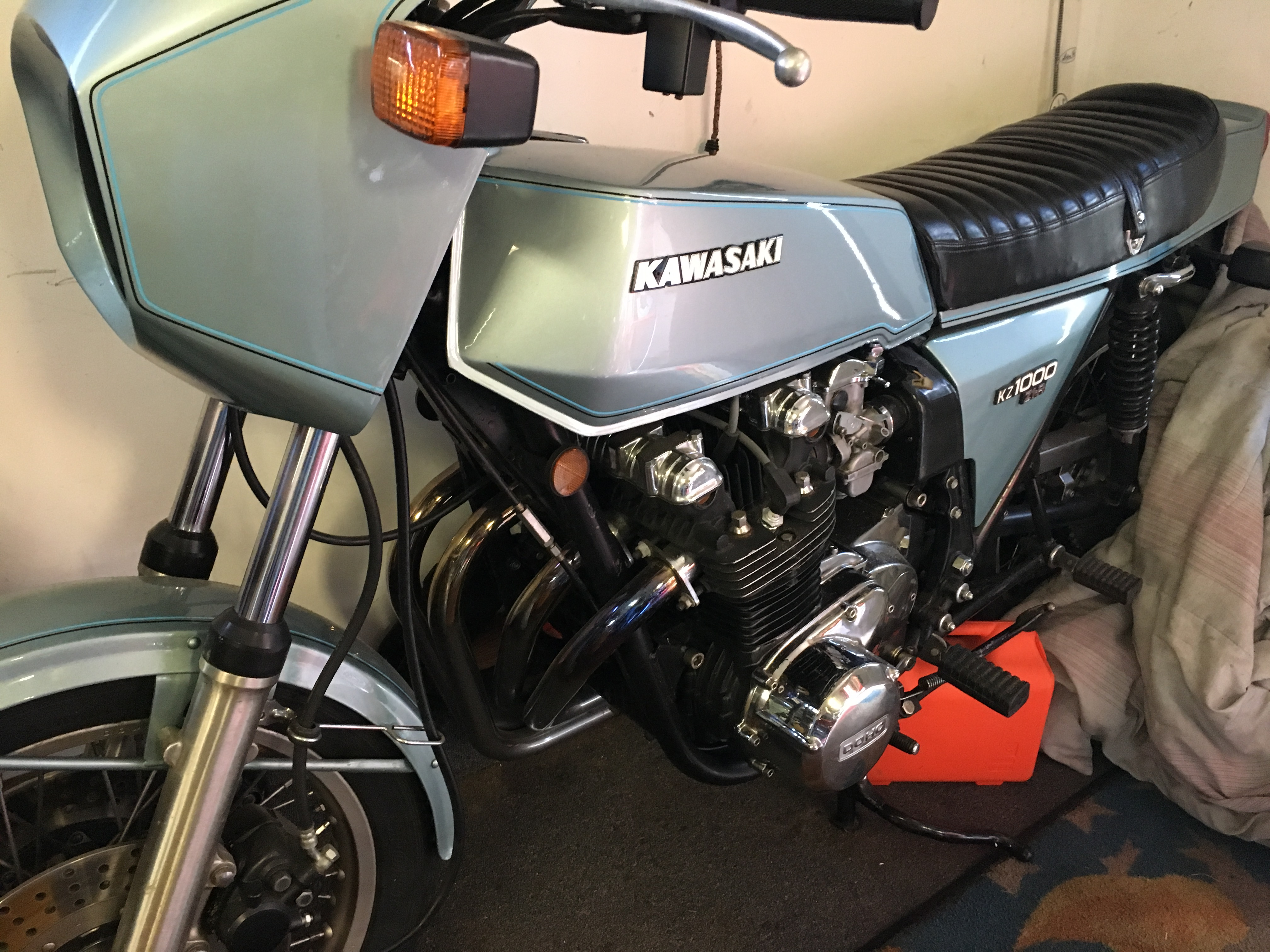 Bruce Sauer 1978 Kawasaki Z1R