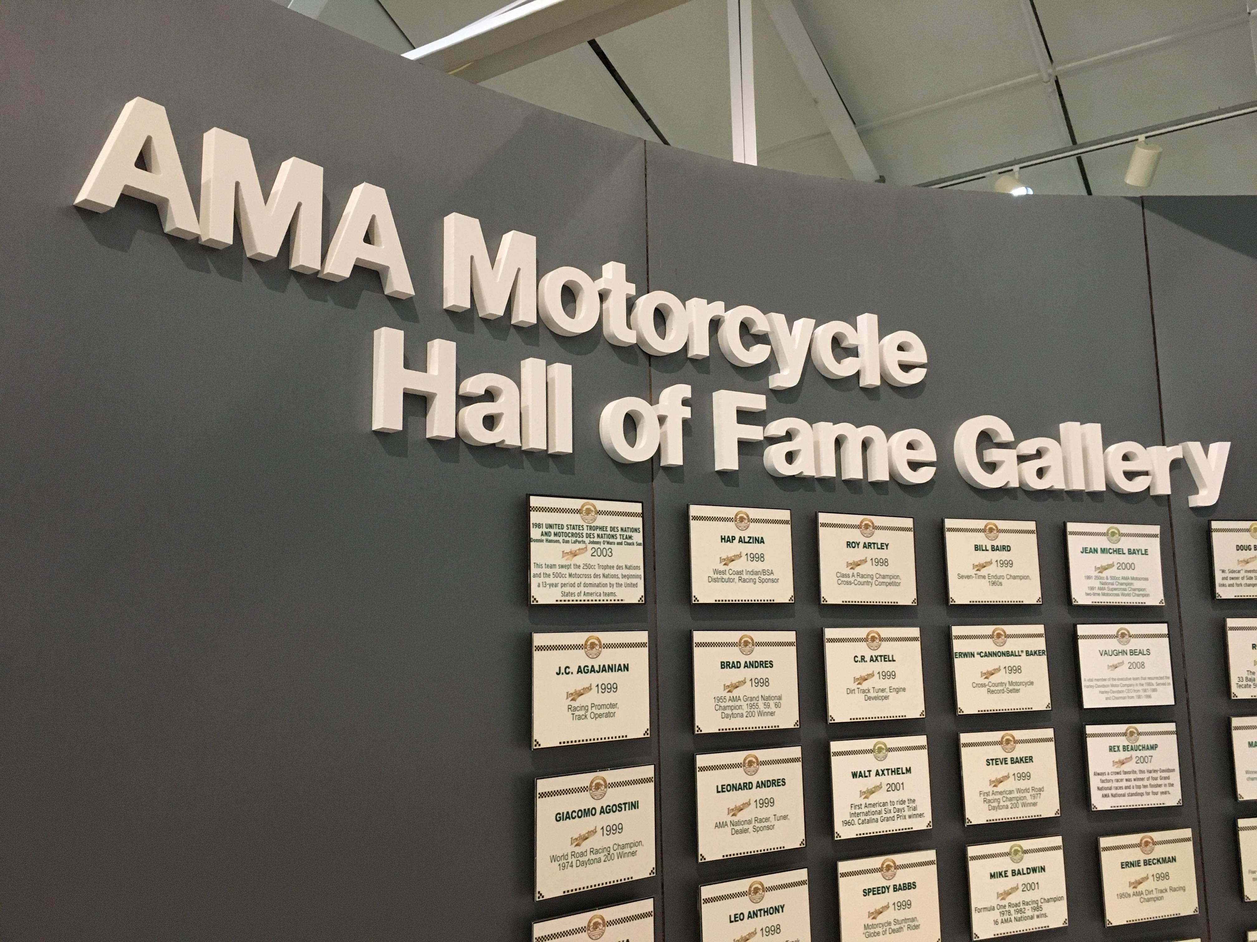The AMA Hall of Fame