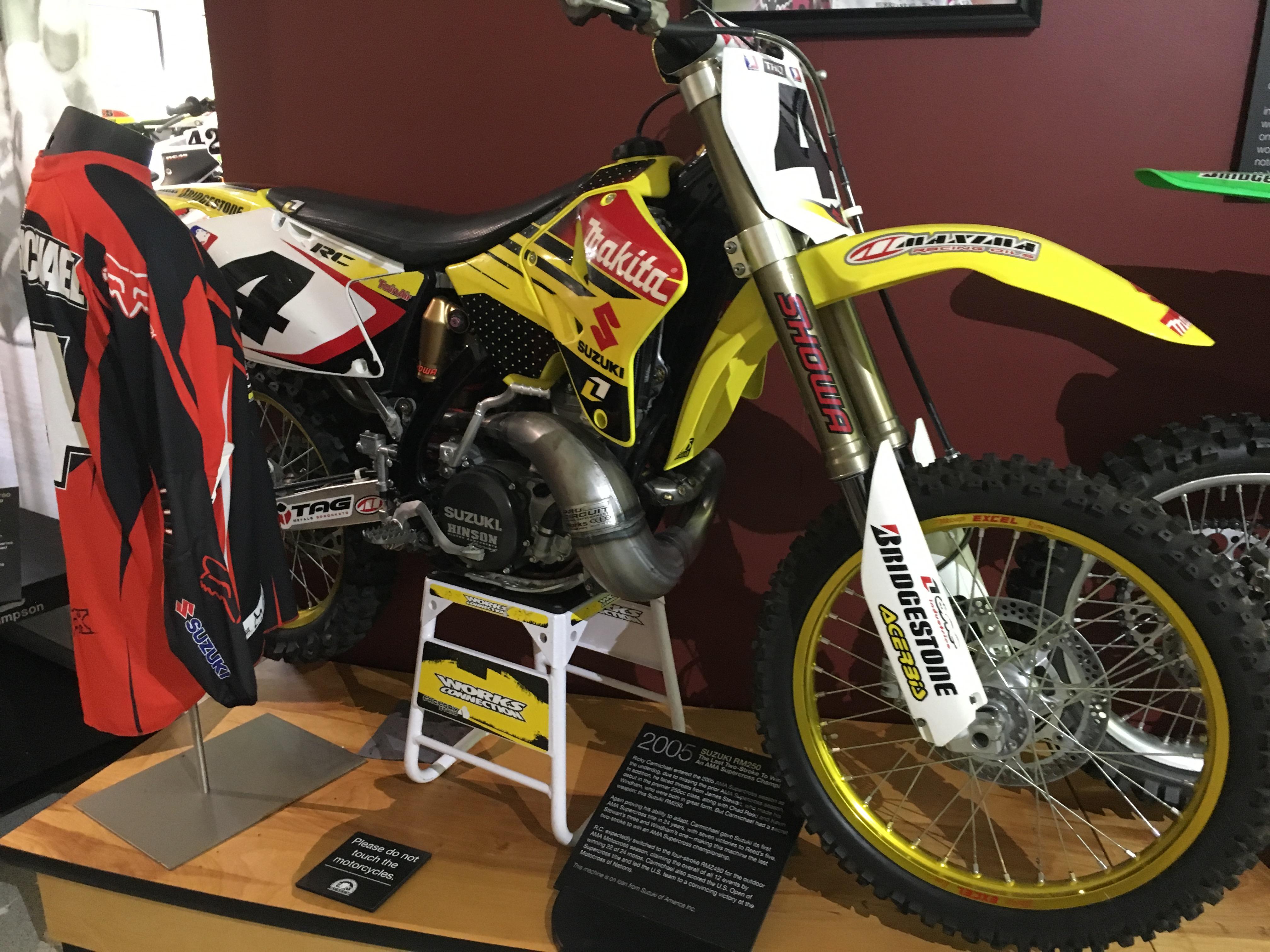 Ricky Carmichael's RM 250