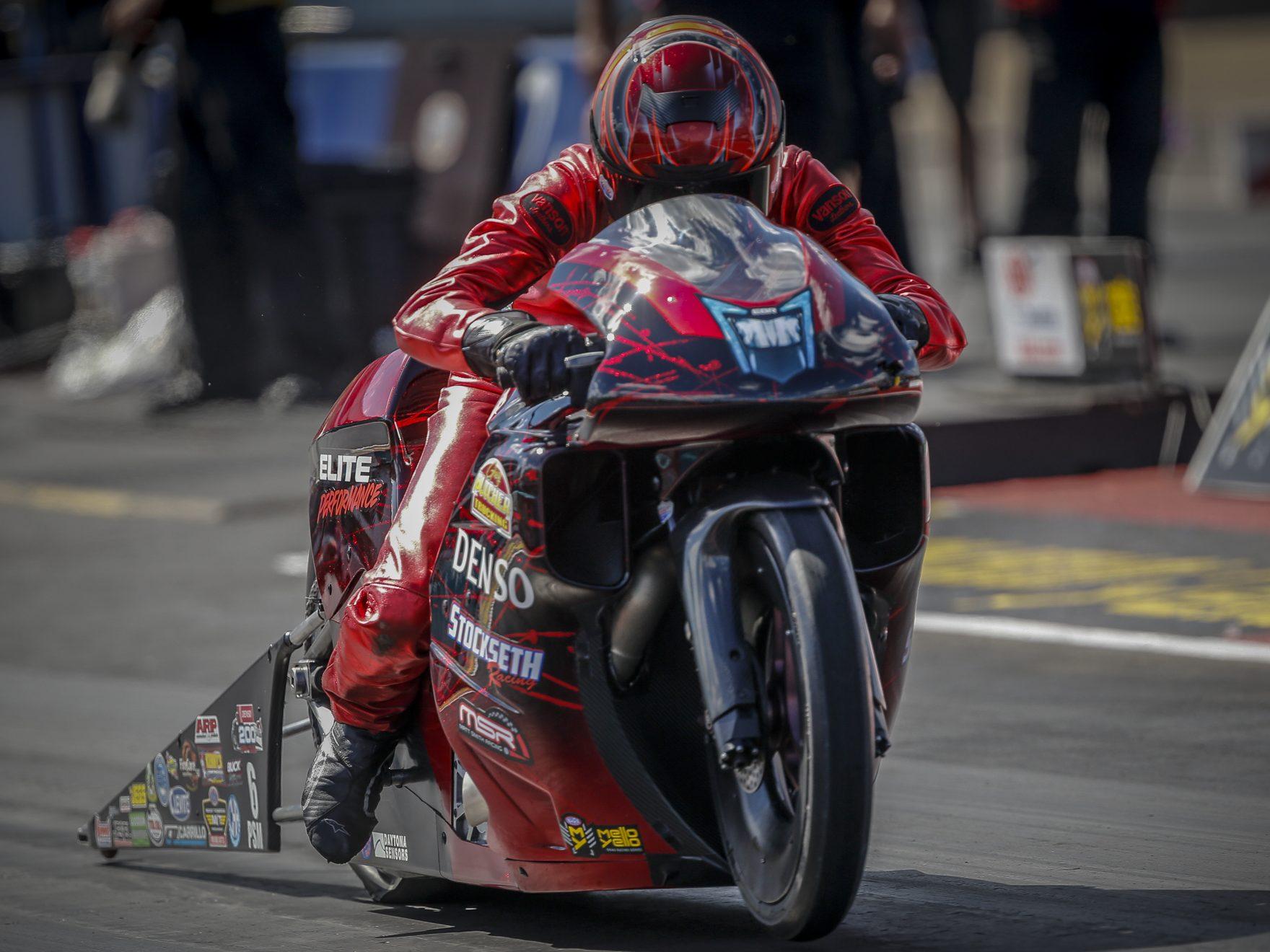 Matt Smith NHRA Pro Stock Motorcycle