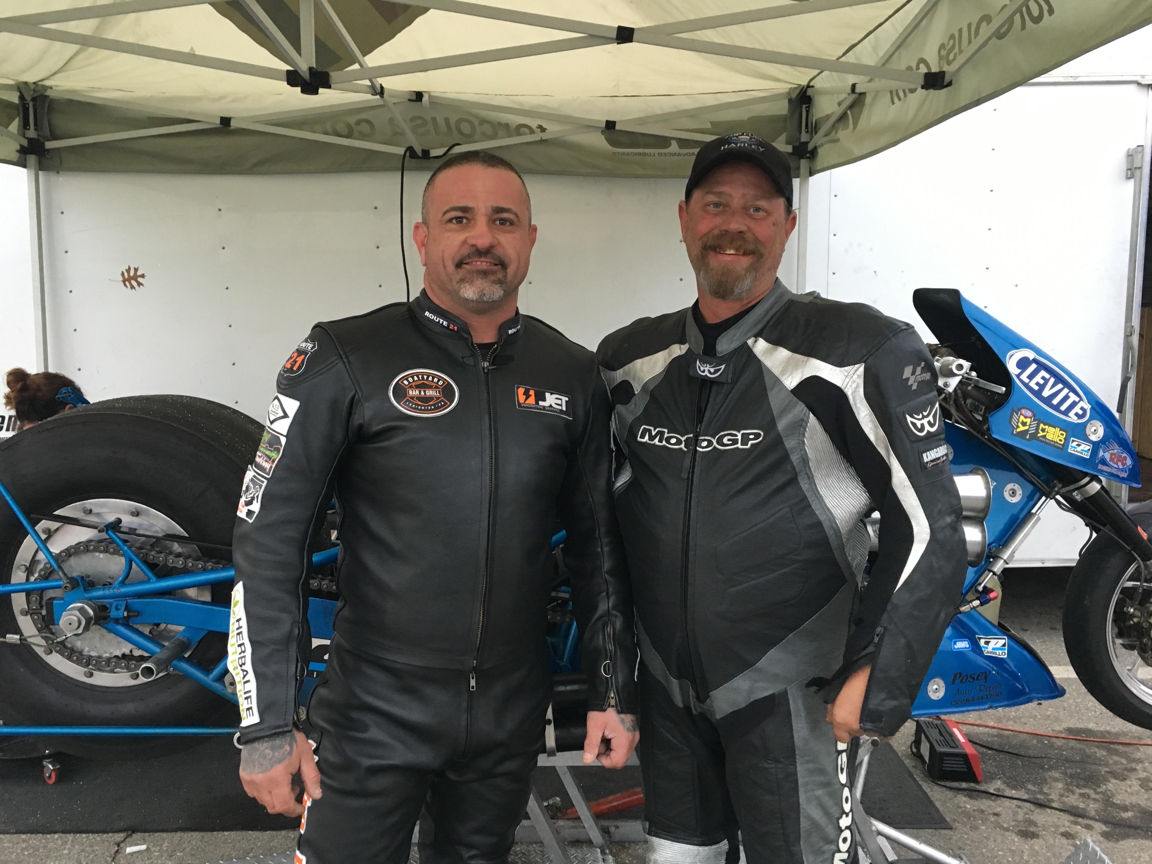 Michael Balch and Scott Oakley