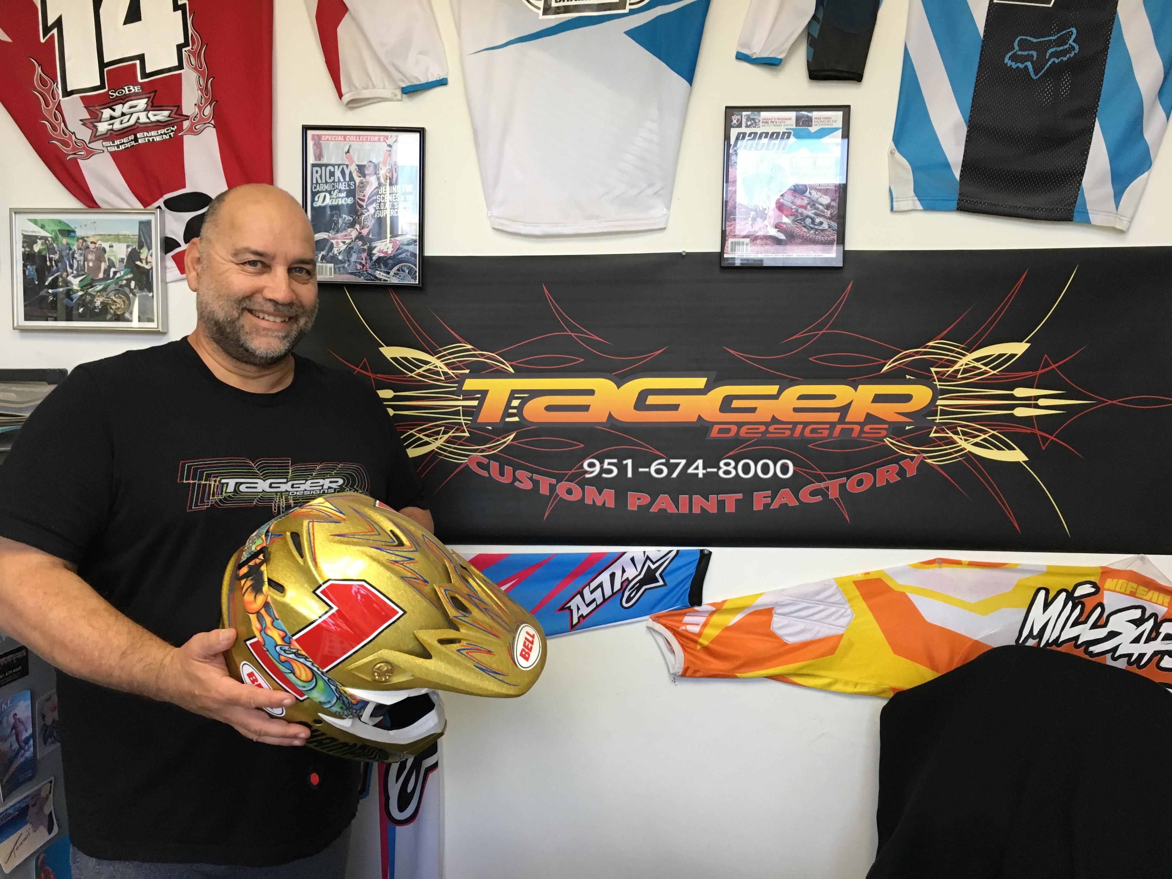 Tagger Designs Helmet