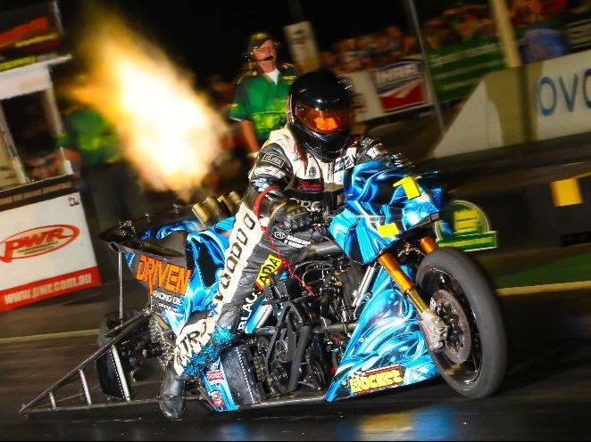 Chris Matheson, Top Fuel Motorcycle