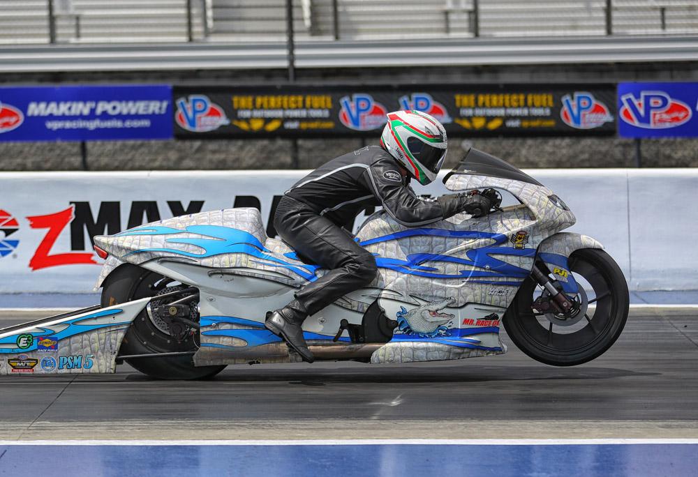 NHRA Pro Stock Motorcycle