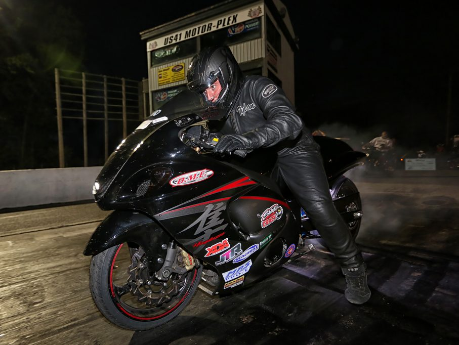 Hayabusa drag bike