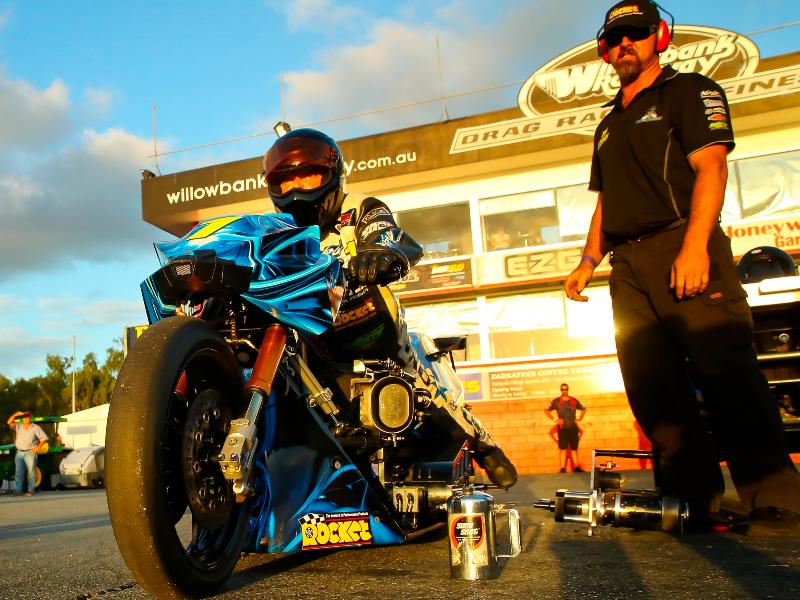 Top Fuel Motorcycle