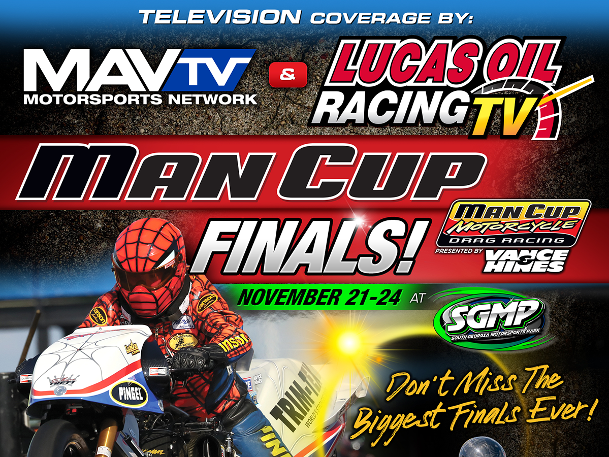 Motorcycle Drag Racing on MAV TV