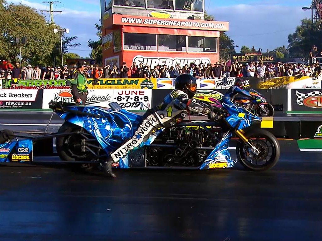 Top Fuel Motorcycle