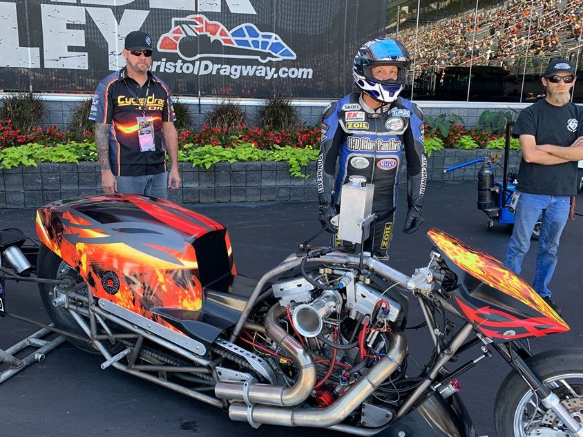 NHRA Top FUEL Harley