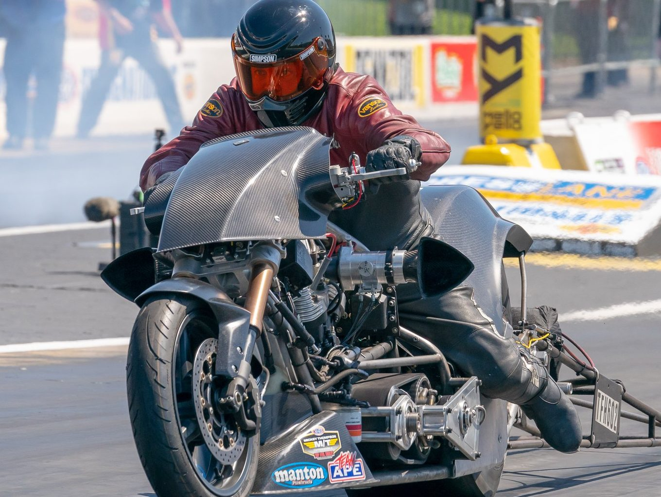 Mike Scott Top Fuel Harley