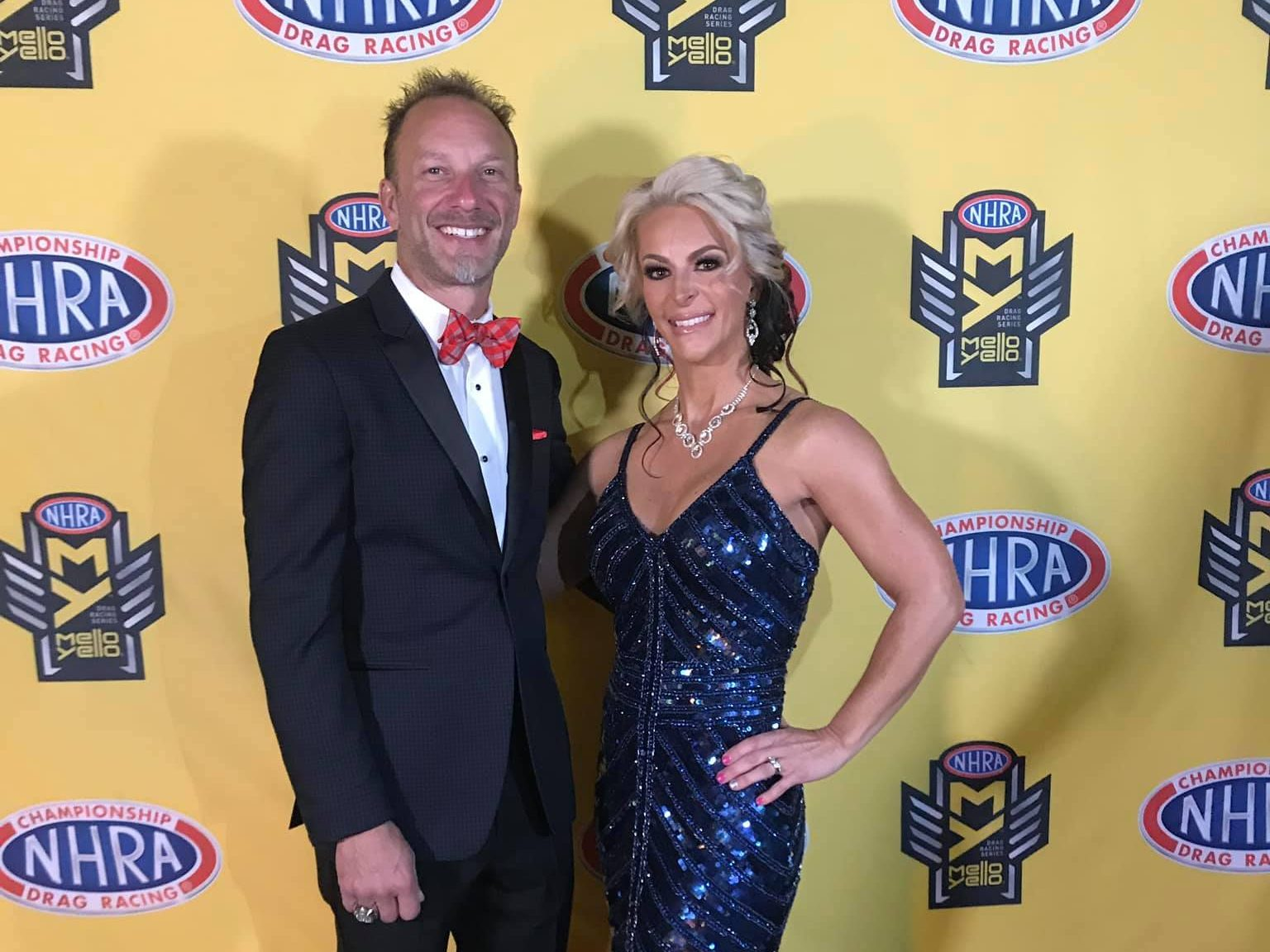 Matt and Angie Smith NHRA Awards