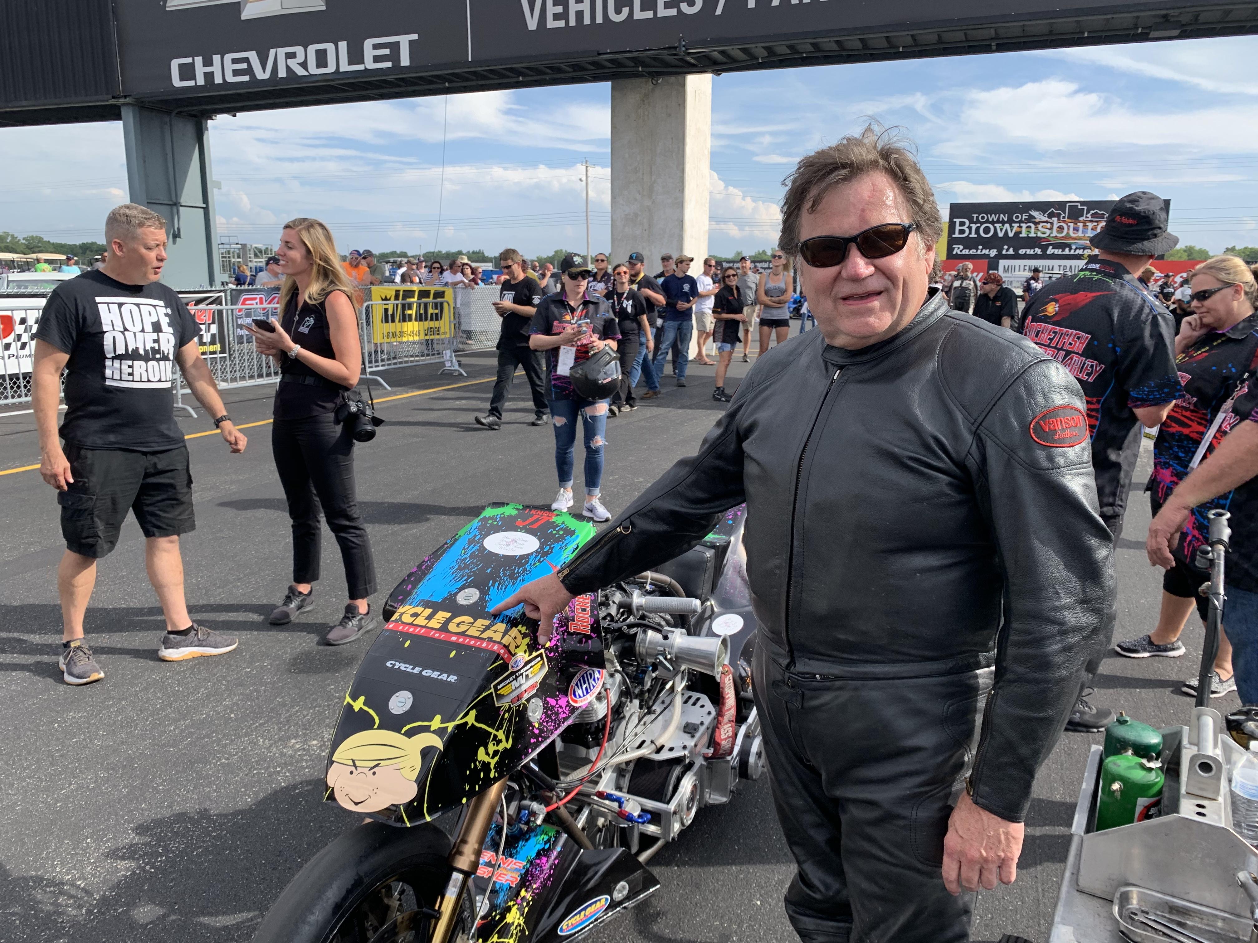 Dennis Fisher, Cycle Gear Nitro Harley