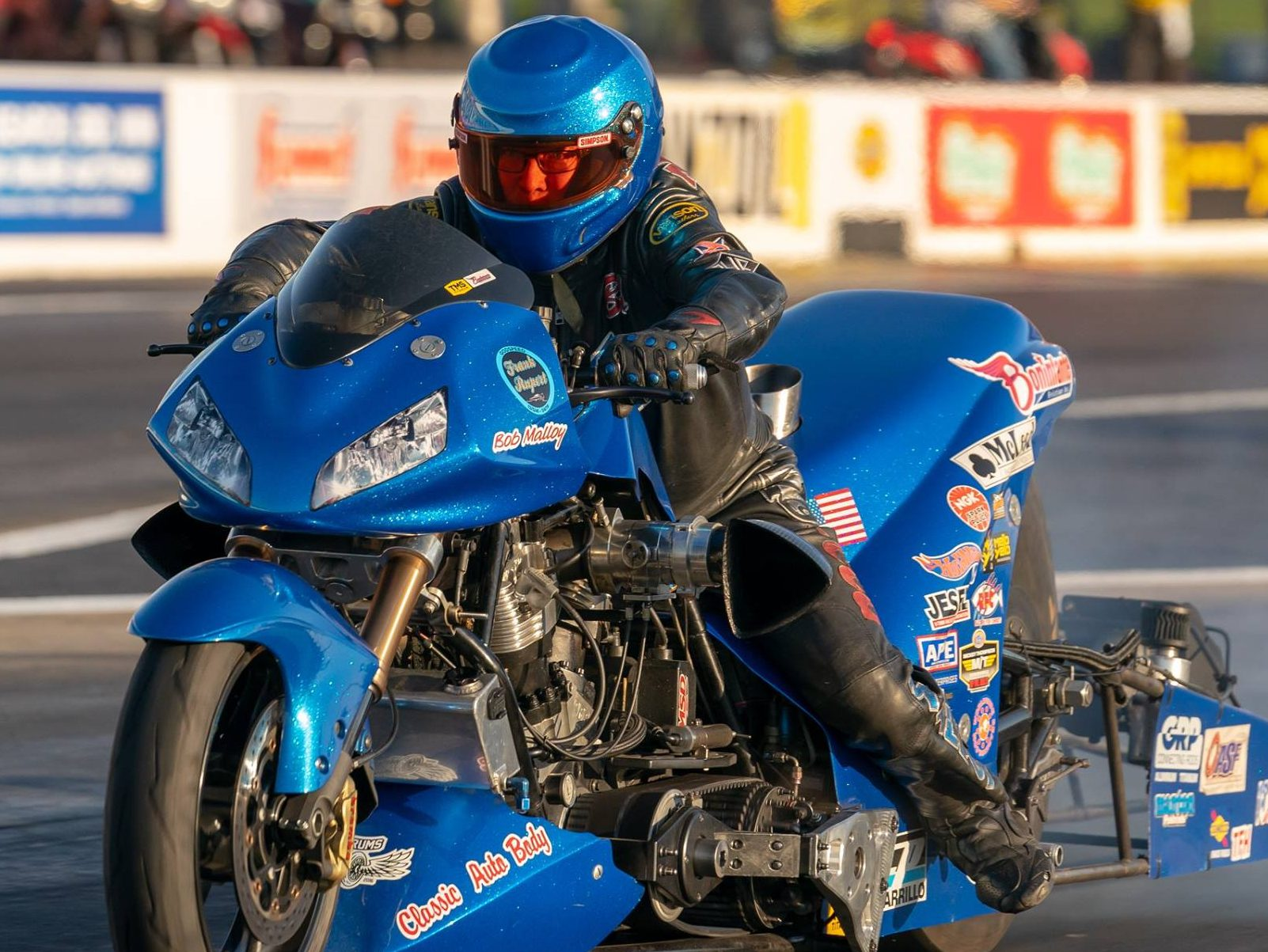 Bob Malloy Top Fuel Harley