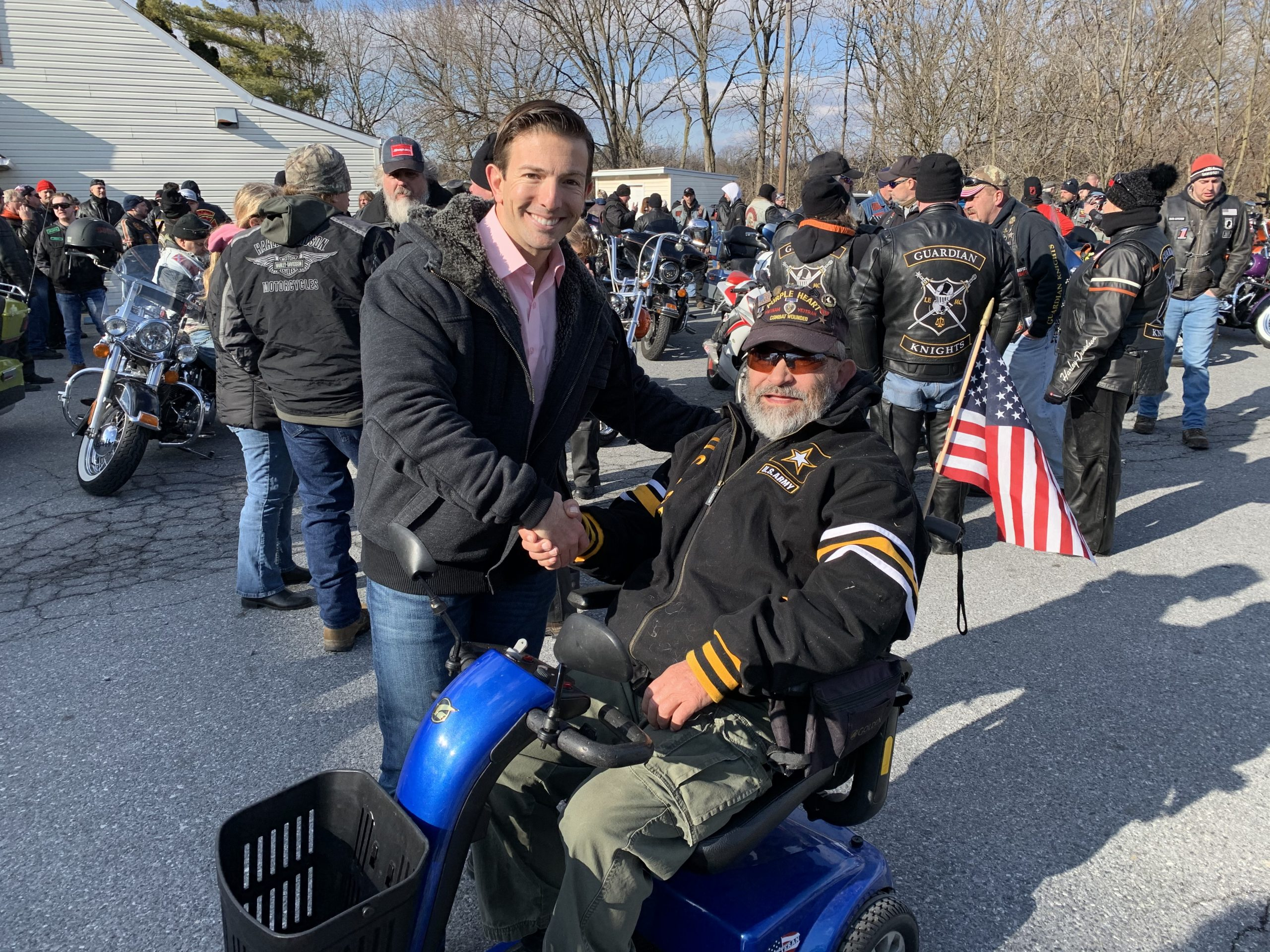 Motorcycle Ride For Veterans