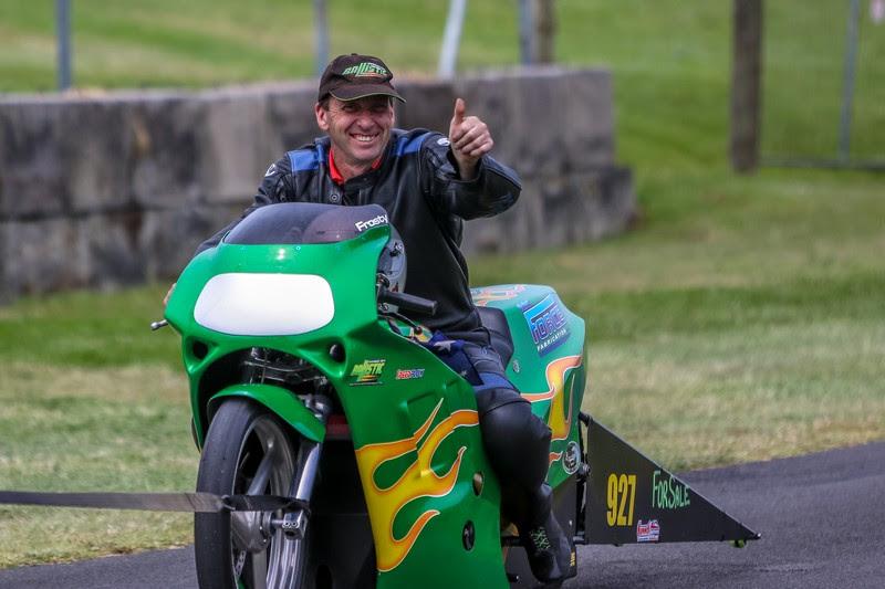 Australian Drag Bike Racer Tony Frost