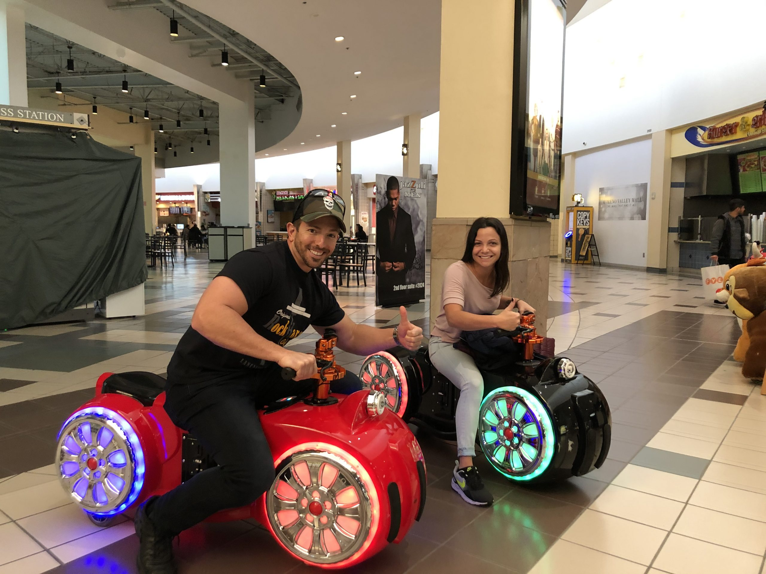 Cycledrag Drag Racing in The Mall