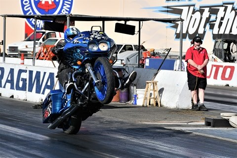 Bagger Drag Racing