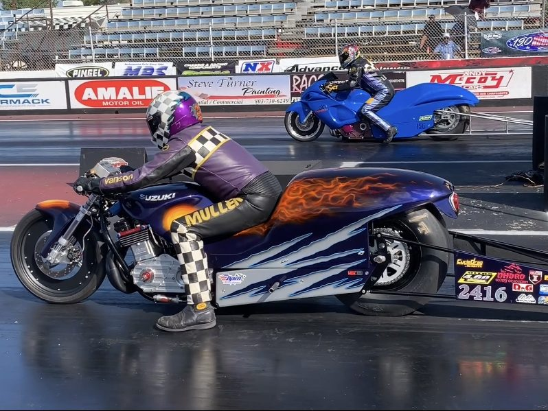 4.60 Drag Bike Racing