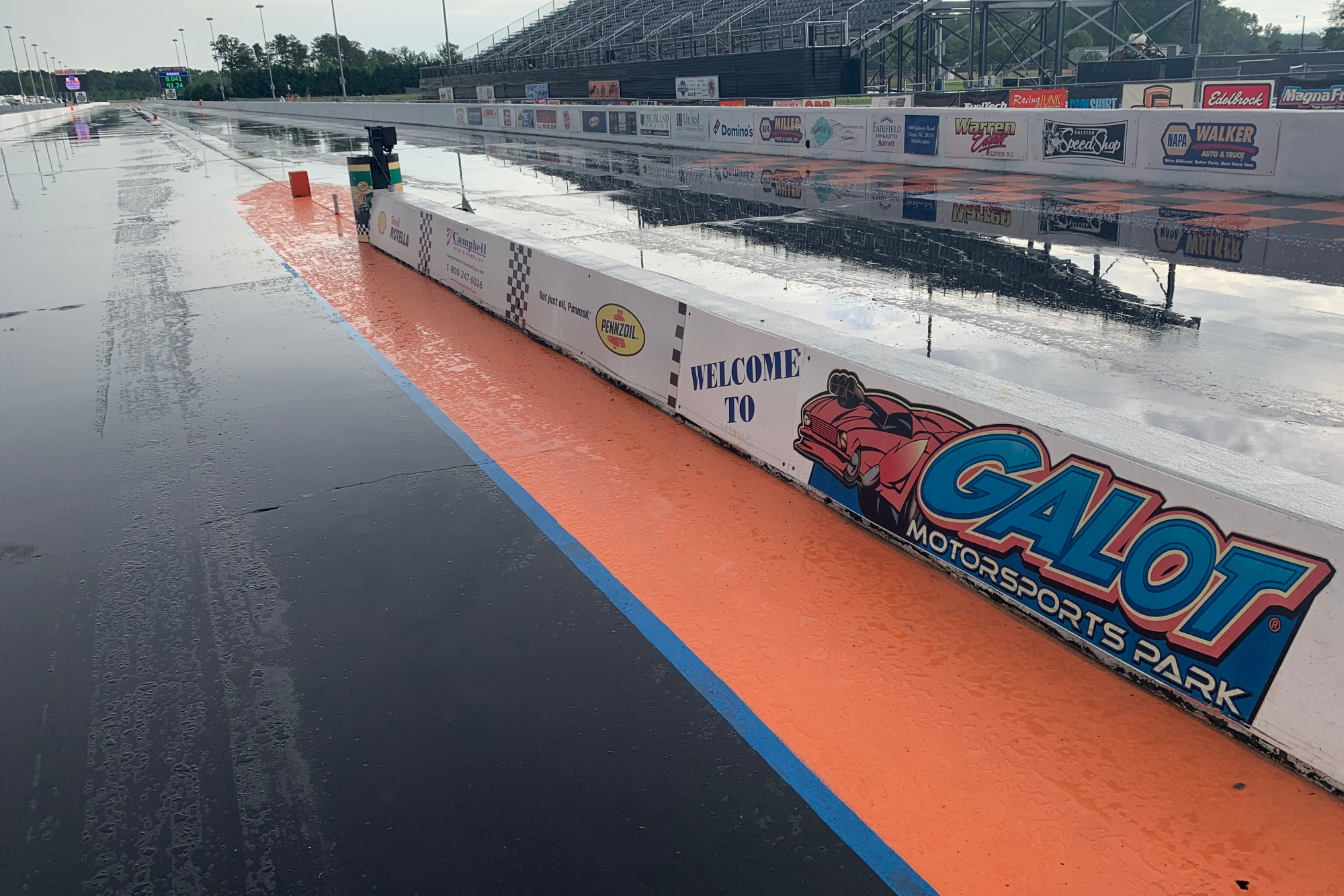 PDRA Galot Rained Out