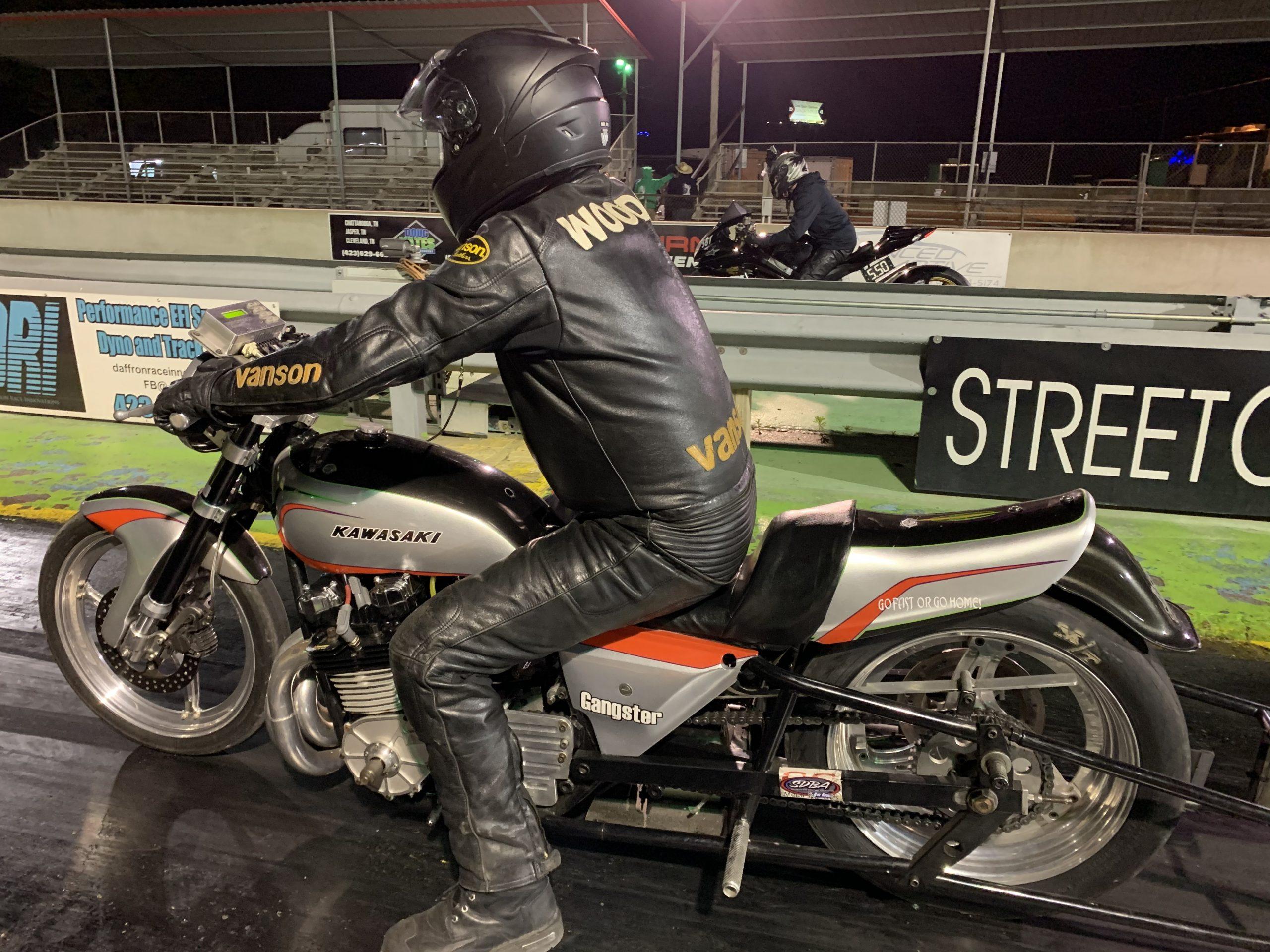 Kawasaki KZ drag bike