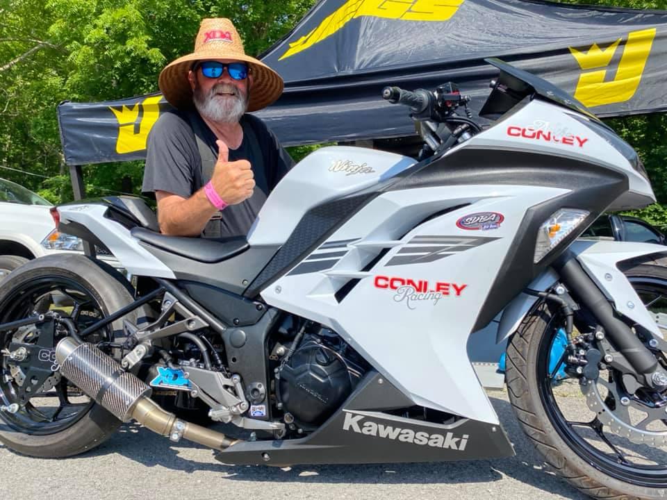 Ninja 300 Drag Bike