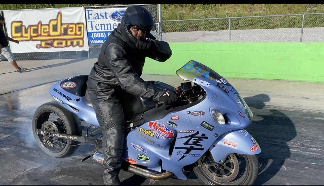 Hayabusa Drag Racing Wheelie