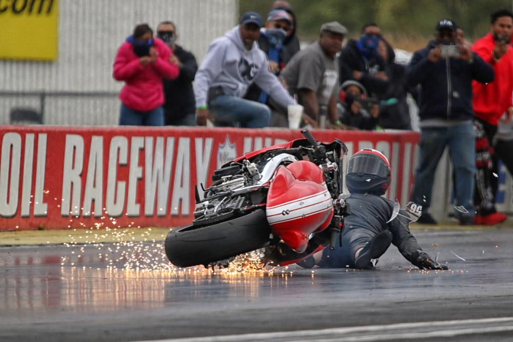 Suzuki Hayabusa crash, Brett Ware
