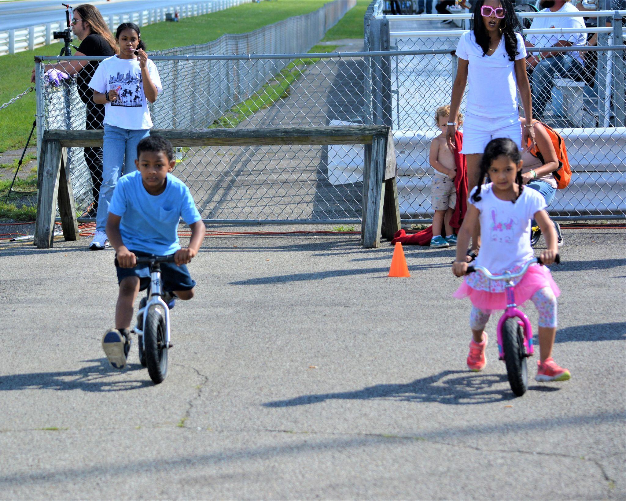Strider Bike Drag Race