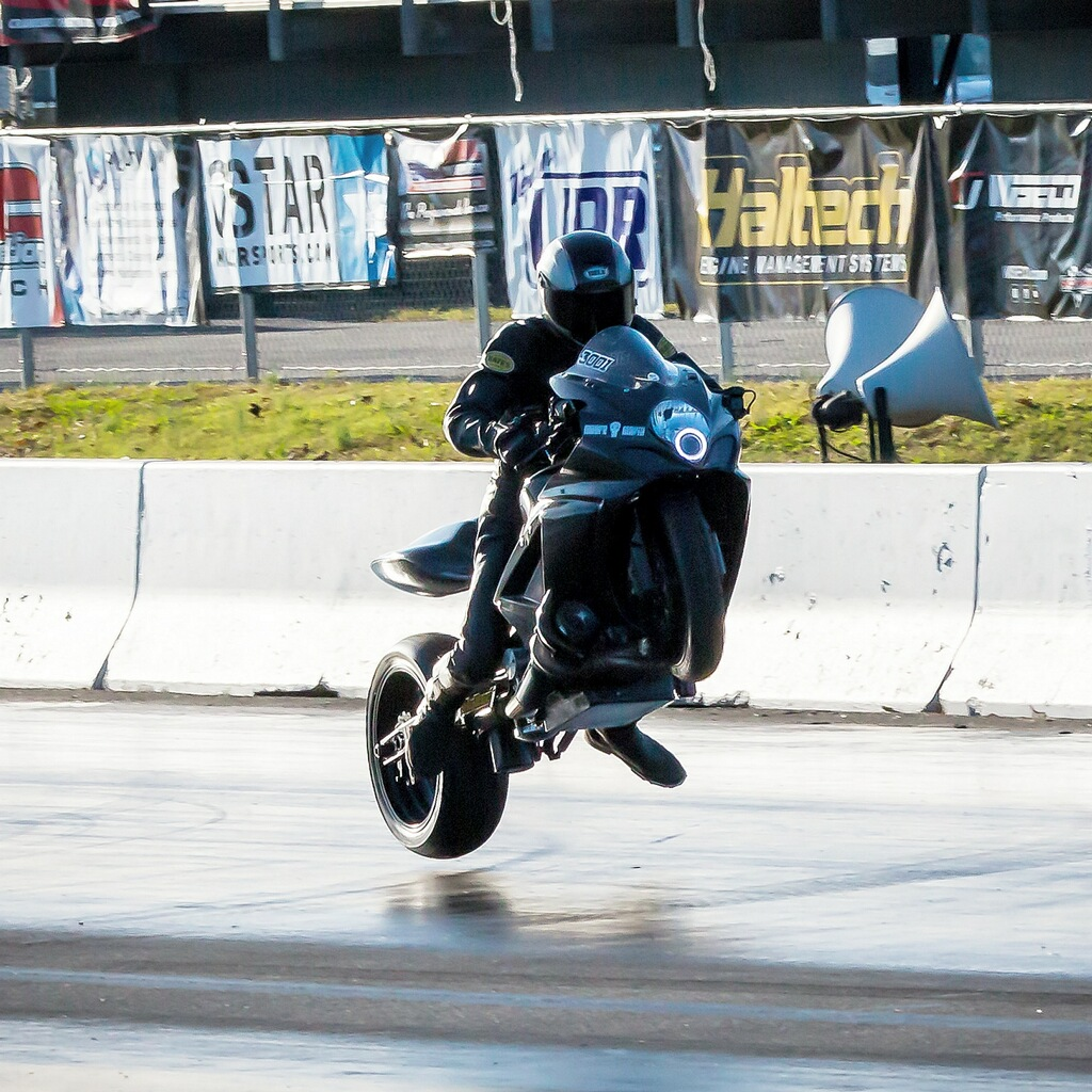 Chris Moore Pro Street Drag Bike