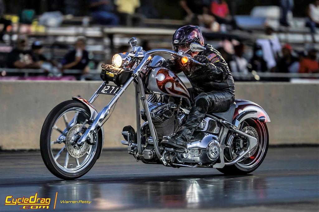 Ken Koby Chopper Drag Racing
