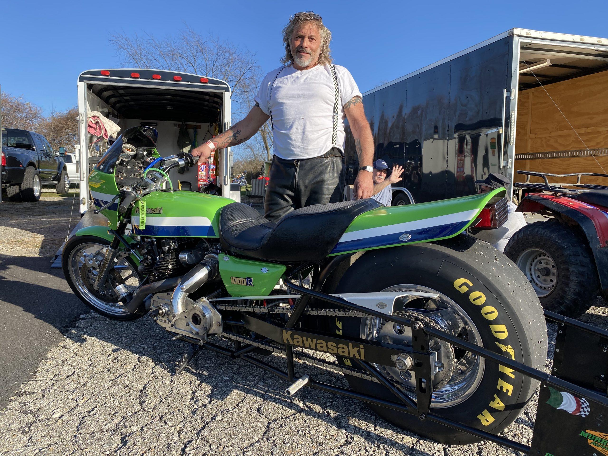 Eddie Lawson Drag Bike