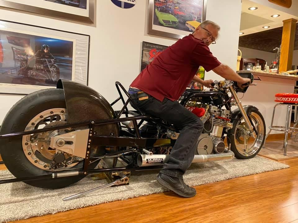 Kurt Sikora drag bike racing