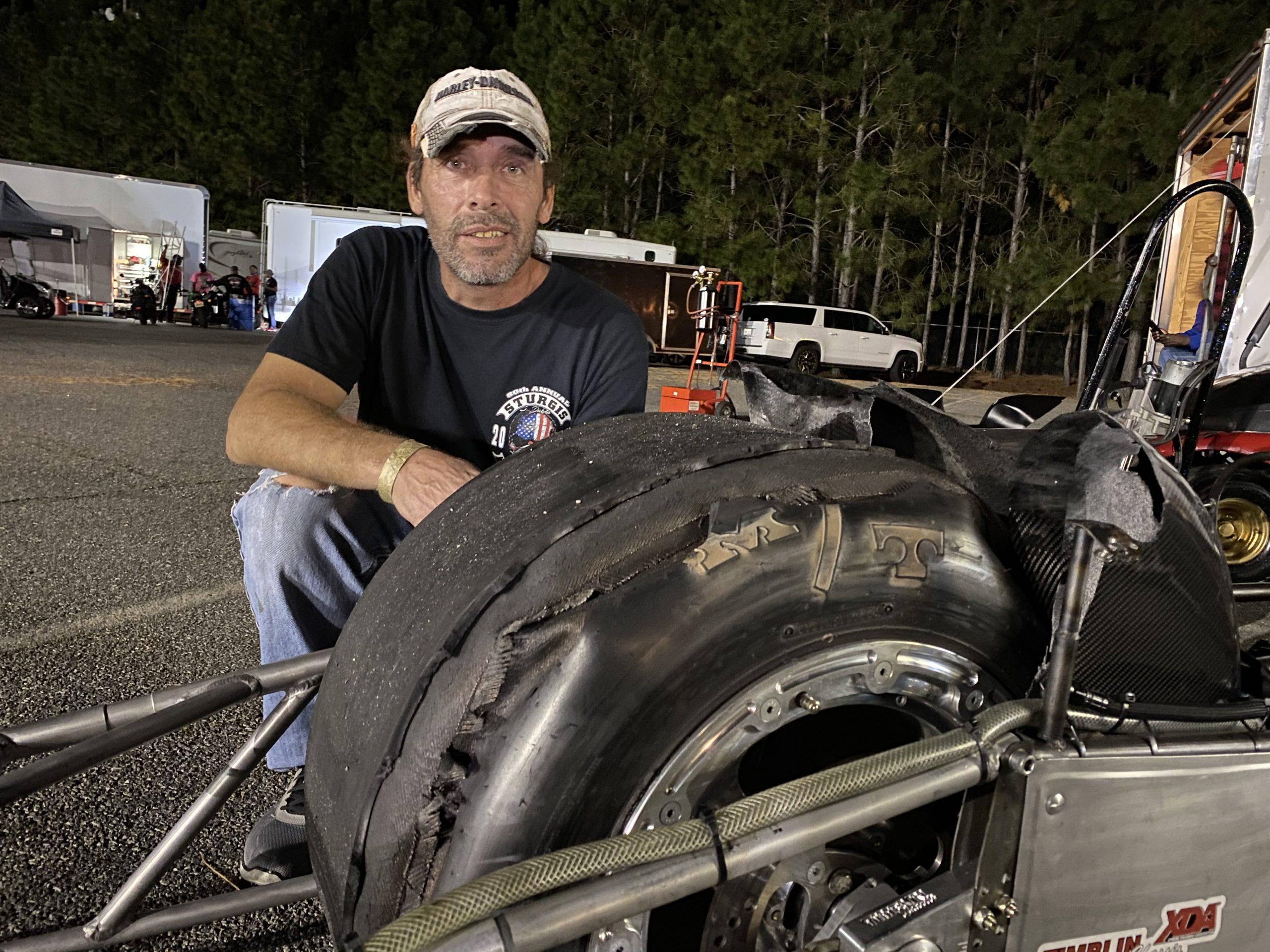 Rob Garcia Turbo Tire Issue
