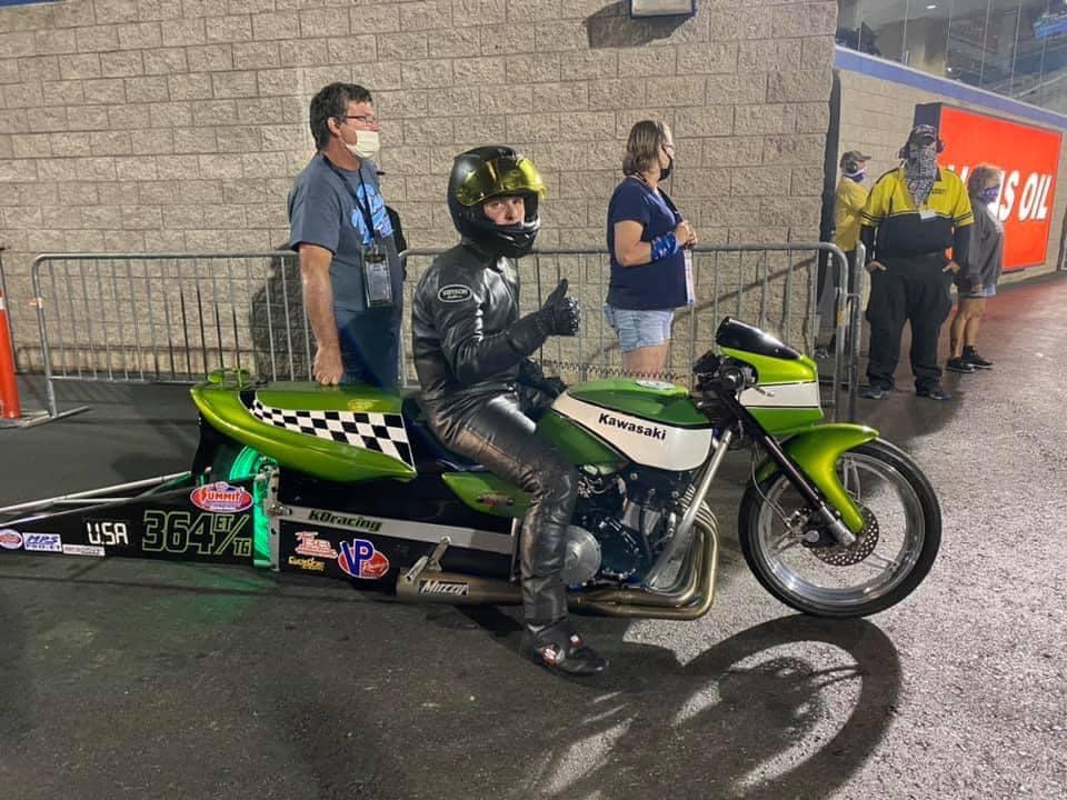 Kawasaki ZRX Drag bike