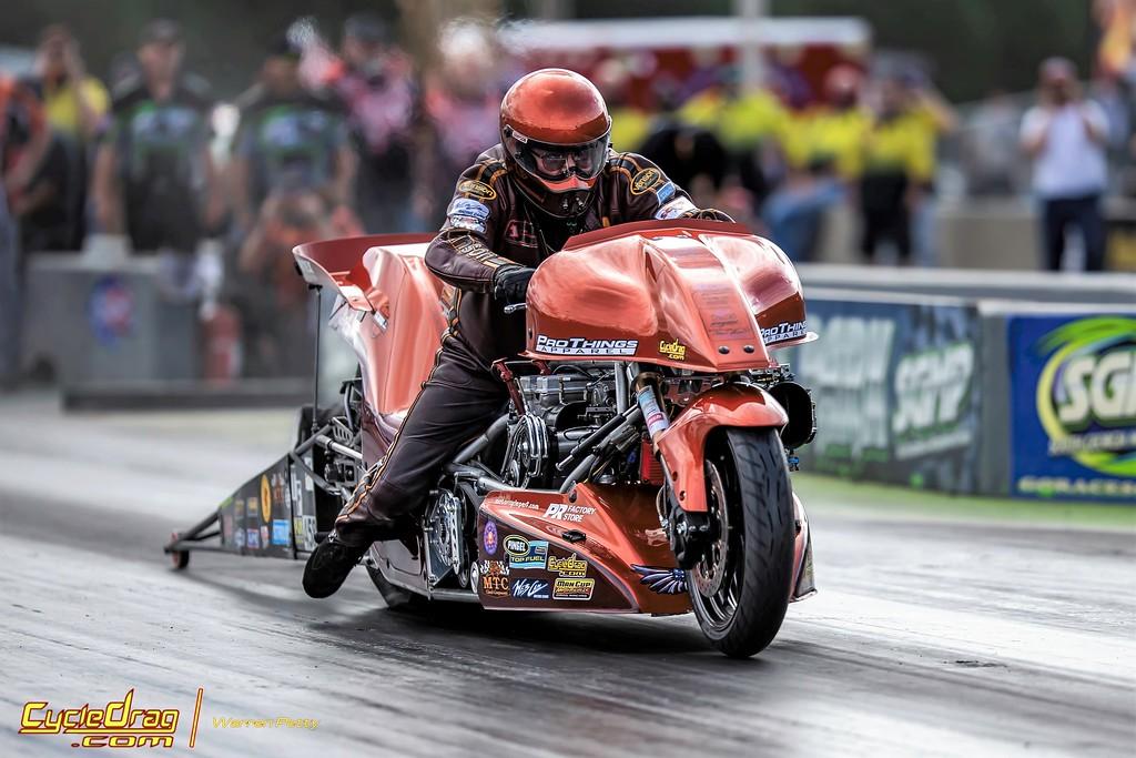 Sam Wills Top Fuel Motorcycle