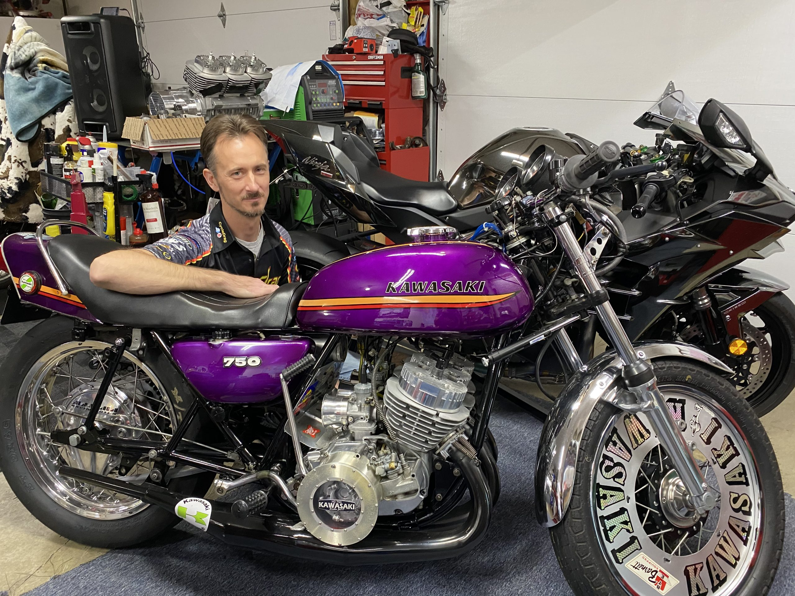 Kawasaki H2 new vs old