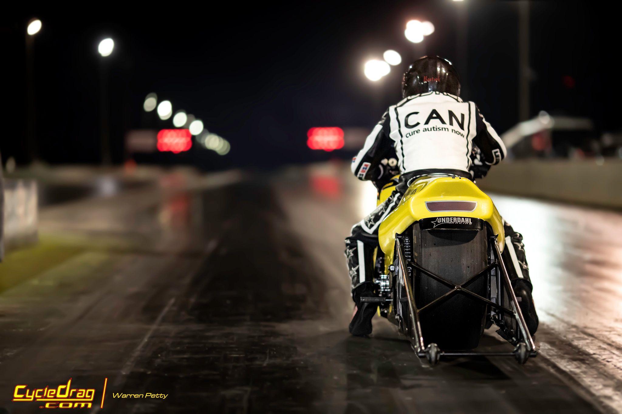 Chris Bostick NRA Pro Stock Bike