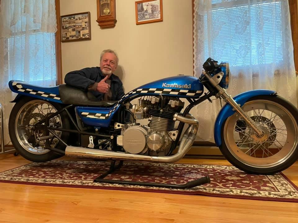 Lester Jenkins KZ Drag Bike