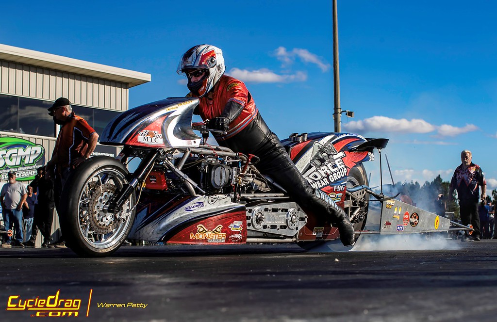 Mitch Brown Top Fuel Motorcyck