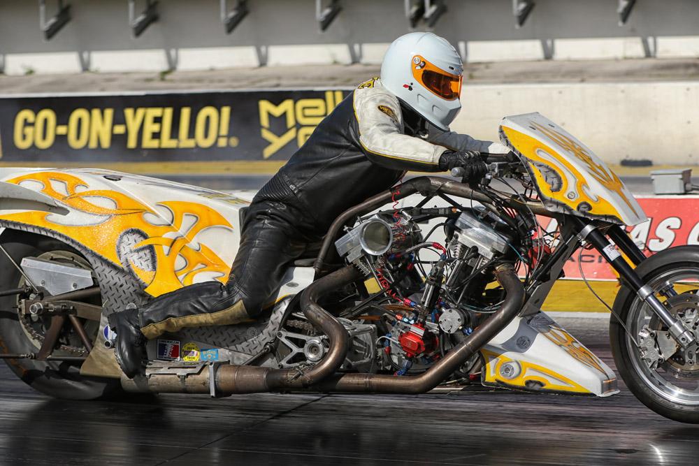 Sam White Pro Fuel Harley