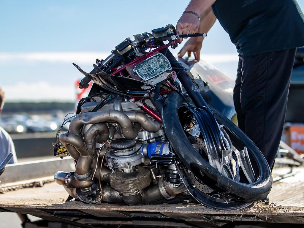 Mike Chongris Motorcycle crash