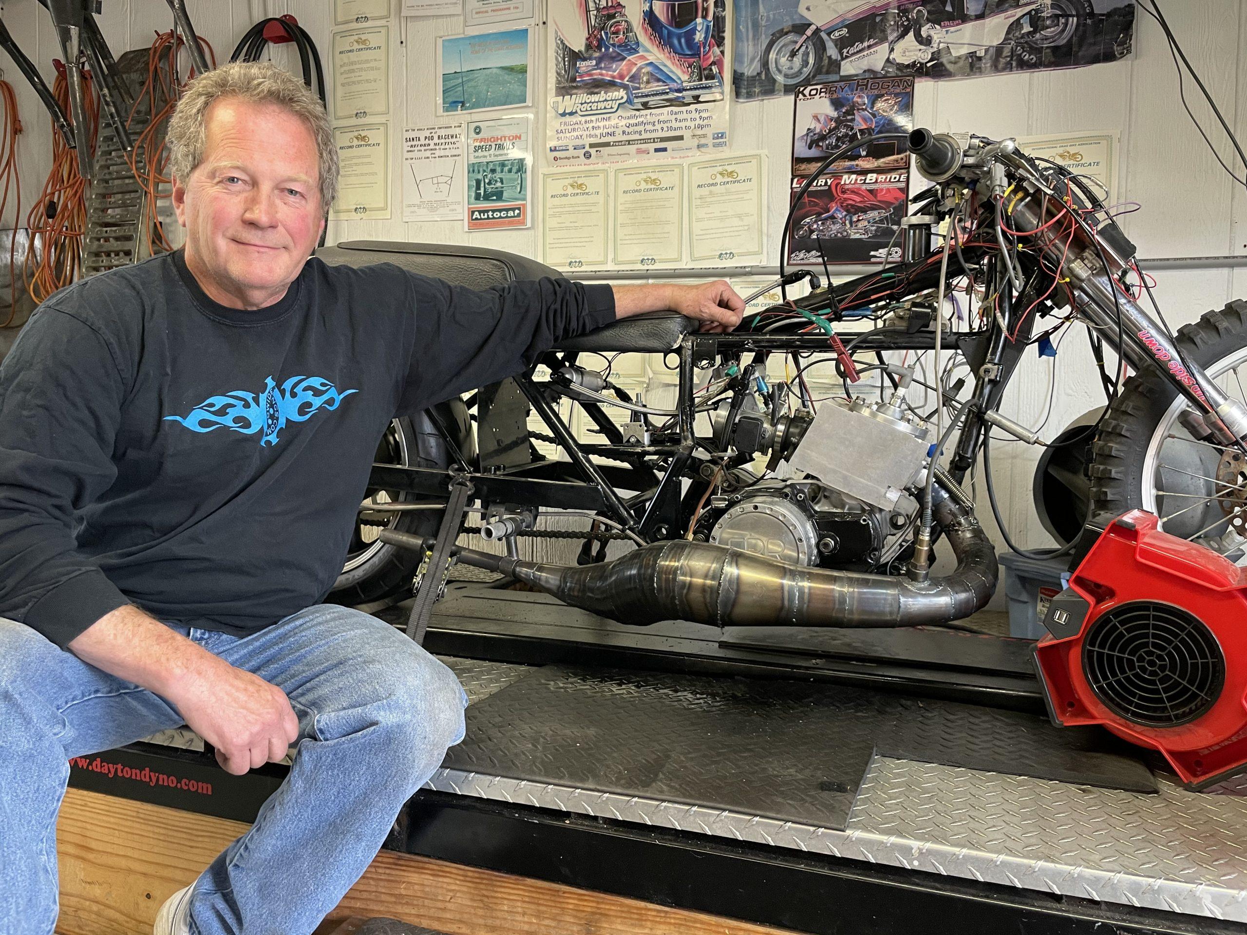 Bill Baxter World's fastest Two Stroke